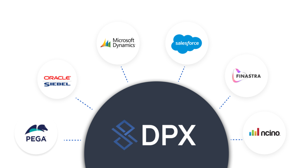 DPX Bank Pricing Software Integrates with Pega, Oracle Siebel, Microsoft Dynamics, Salesforce, Finastra, and Ncino