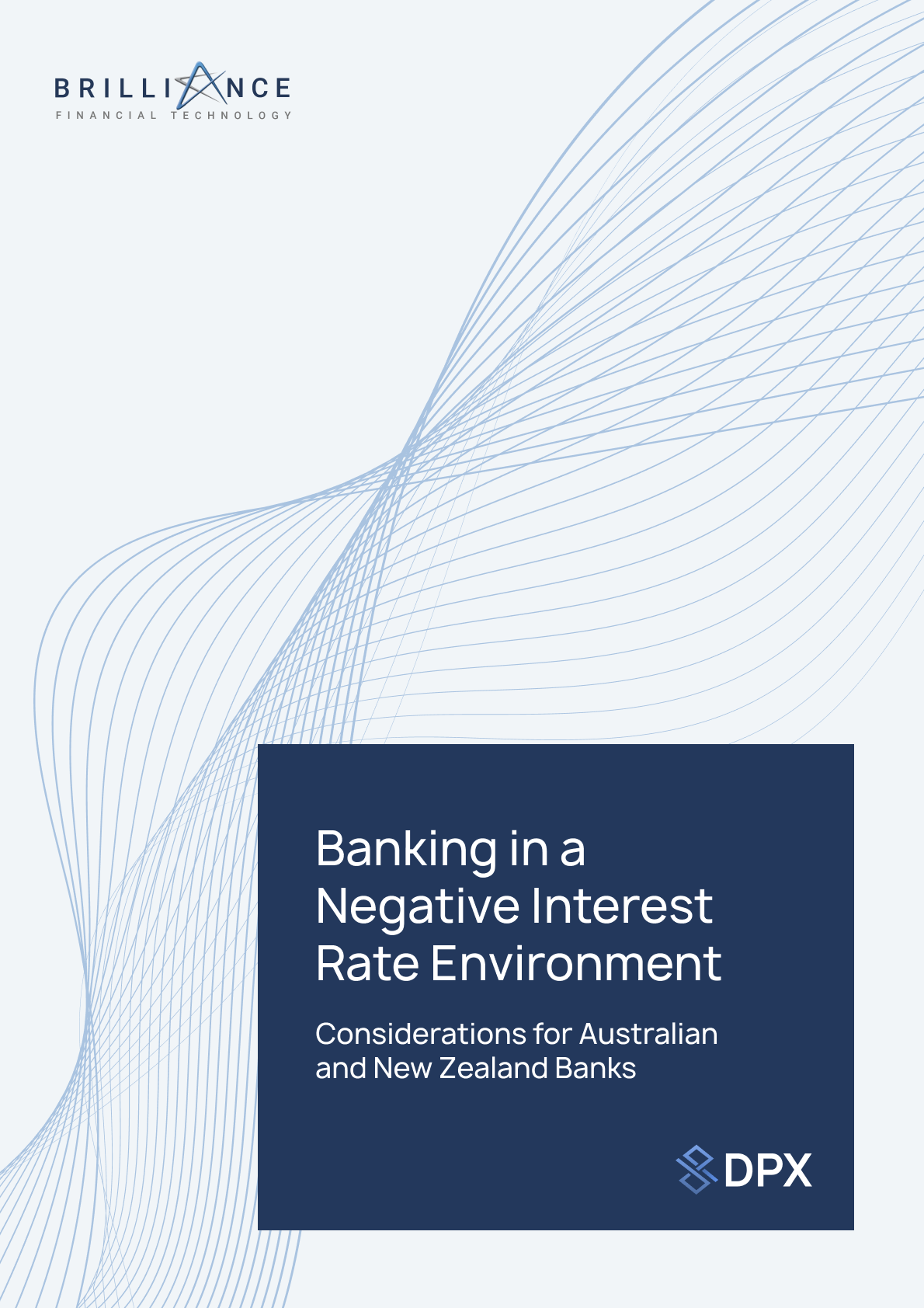 Banking in a Negative Interest Rate Environment White Paper