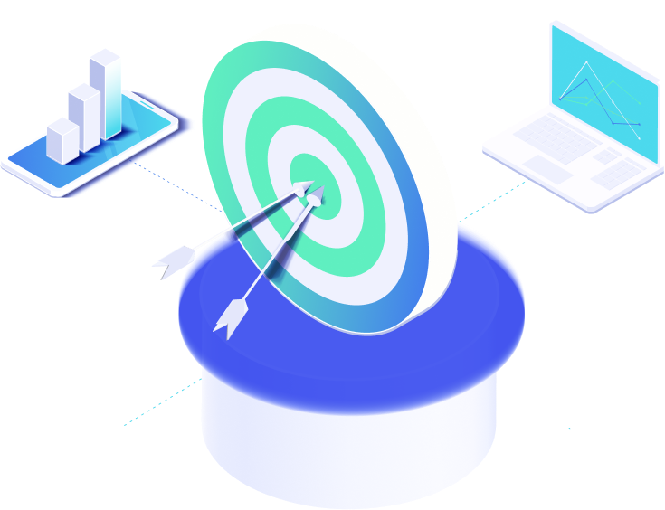 Improve sales performance icon